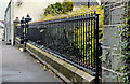 J3652 : Church railings and gate, Ballynahinch (1) by Albert Bridge