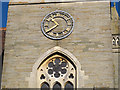 TQ4054 : Church of St James, clock by Stephen Craven