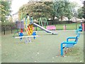 SE1130 : Asa Briggs Park - Play Area by Betty Longbottom