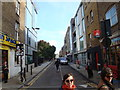 TQ3382 : View along Bacon Street from Brick Lane #2 by Robert Lamb