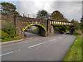 SK0582 : Railway Viaduct, Hayfield Road by David Dixon
