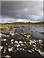 NY7524 : Shallow, rocky pool on Murton Fell by Karl and Ali