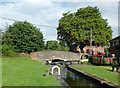 SP1592 : Minworth Bottom Lock, Birmingham by Roger  Kidd