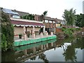 SO9587 : Somebody in Morville Road likes the canal by Christine Johnstone