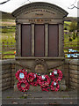 SK0482 : Chinley, Bugsworth & Brownside War Memorial by David Dixon