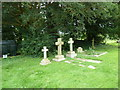 SY7791 : St. John the Evangelist, Tincleton: churchyard (d) by Basher Eyre