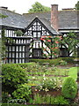 SJ8969 : Gawsworth Hall and garden by Peter Turner