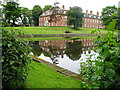 SJ8969 : Gawsworth New Hall by Peter Turner