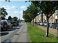 TQ4887 : Whalebone Lane South - the pedestrian view by Robin Webster