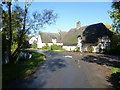 TL2379 : Village scene in Wennington by Ian Yarham