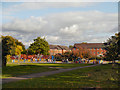 SJ8791 : Thornfield Park, Heaton Moor by David Dixon