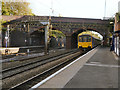 SJ8892 : Sprinter DMU at Heaton Chapel Station by David Dixon