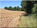 SP0557 : View north from footpath to The Old House by David P Howard