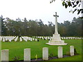 SJ9815 : Broadhurst Green, war graves by Mike Faherty
