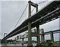SX4358 : The bridges across the Tamar as seen from Saltash by Robin Drayton