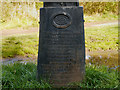 SJ9093 : Verse on Trans Pennine Trail Signpost by David Dixon