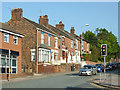 SJ8454 : Terraced housing in Kidsgrove, Staffordshire by Roger  Kidd