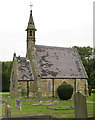 SK2167 : Bakewell - southern chapel in cemetery by Dave Bevis