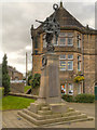 SK0296 : The War Memorial, Hadfield by David Dixon