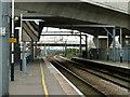 TQ4882 : Dagenham Dock up platform by Robin Webster
