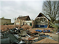 TQ4788 : Demolition site, Chadwell Heath by Robin Webster