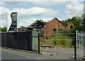 SO9199 : Derelict land and building in Springfield, Wolverhampton by Roger  Kidd