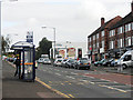 SP1183 : Bus Stop - Warwick Road/Knights Road by Row17