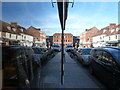 SU0000 : Wimborne Minster: High Street reflection : Week 41