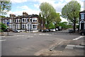 TQ3575 : Pepys Rd, Drakefell Rd junction by Nigel Chadwick