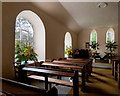NJ2901 : The interior of Glengairn church by Nigel Corby