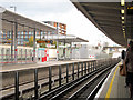 TQ3981 : Canning Town DLR station by Oast House Archive