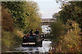 SP7459 : Narrowboat approaching Duston Junction West Lock by Oast House Archive