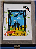 TQ7562 : Walderslade Village Sign by David Anstiss
