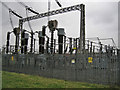 SY3498 : Electricity sub station by Richard Dorrell
