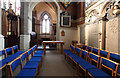 TQ2496 : St John the Baptist, Chipping Barnet - South chapel by John Salmon
