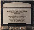 TQ2496 : St John the Baptist, Chipping Barnet - Wall monument by John Salmon