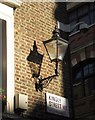 TQ2980 : Lamp, Kingly Street, W1 by Derek Harper
