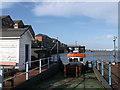 TQ6474 : Gravesend Ferry Terminal (west-side) by David Anstiss