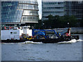TQ3380 : Port of London craft passes City Hall by Graham Robson