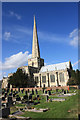 SE6730 : The Collegiate Church of Saint Mary the Virgin, Hemingbrough by Peter Church
