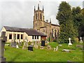 SJ9286 : Norbury Parish Church by Gerald England
