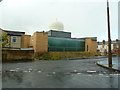 SD8333 : Unfinished mosque in Stoneyholme, Burnley by Alexander P Kapp
