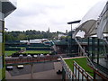 TQ2471 : Southern end of Wimbledon Tennis Area (2) by David Hillas