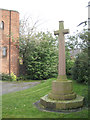 SP1291 : War memorial by St Mary's church, Pype Hayes B24 by Robin Stott