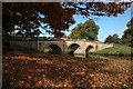 SK2570 : The bridge at Chatsworth by Graham Hogg