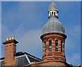 J3374 : Turret and chimneys, Ulster Reform Club, Belfast by Albert Bridge