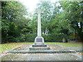 TQ3865 : West Wickham War Memorial by Marathon