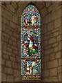 NY5563 : Lanercost Priory, Memorial Window to John Addison by David Dixon