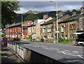 SD9225 : Todmorden - NE side of Burnley Road by Dave Bevis