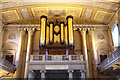 TQ3877 : St Peter & St Paul, Old Royal Naval Chapel, Greenwich - Organ loft by John Salmon